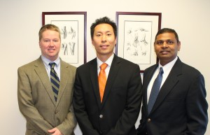 Drs. Joe Park (Division Head), M. Truitt Cooper, and Venkat Perumal
