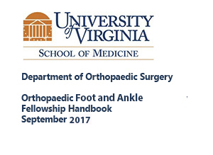 Foot & Ankle Fellowship | Department of Orthopaedic Surgery