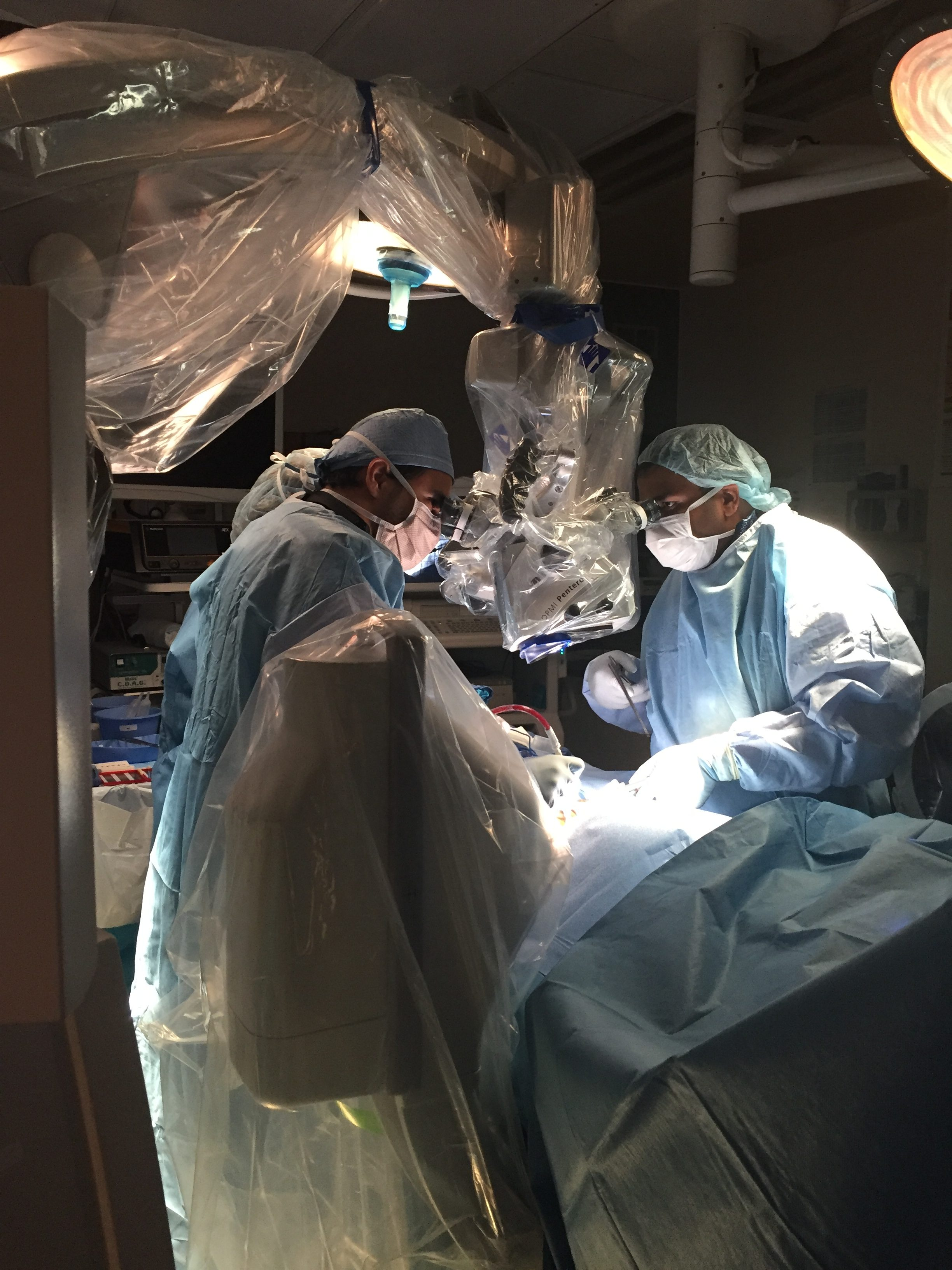 Mastering spine surgery