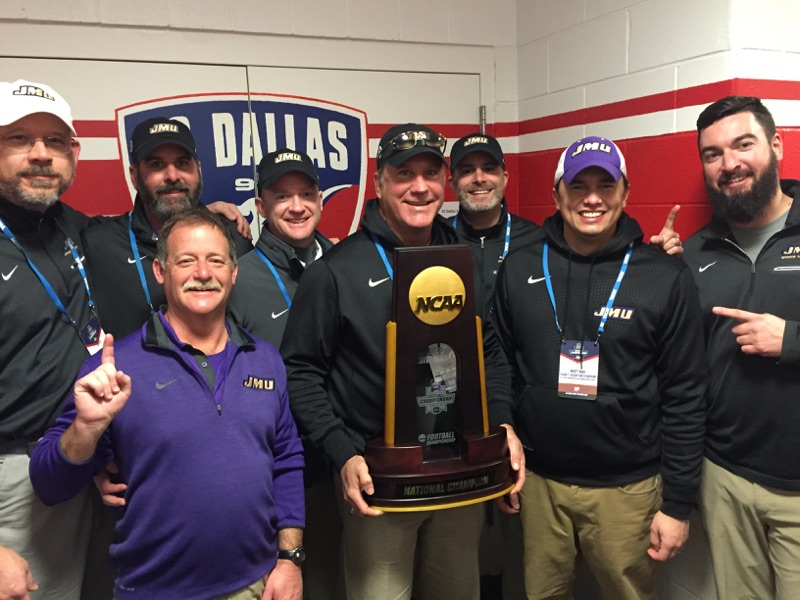 Congratulations to the James Madison University Football Team on the 2017 FCS National Championship! Go Dukes!