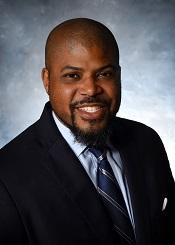 Photo of UVA Dr. Rashard Dacus