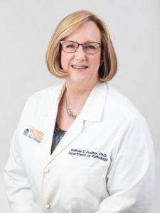Melinda Poulter, Ph D  | Department of Pathology
