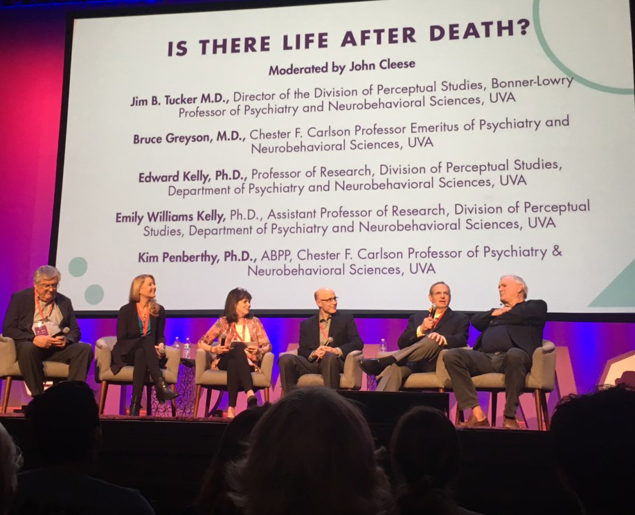 UVA DOPS faculty panel with John Cleese, April 12th 2018