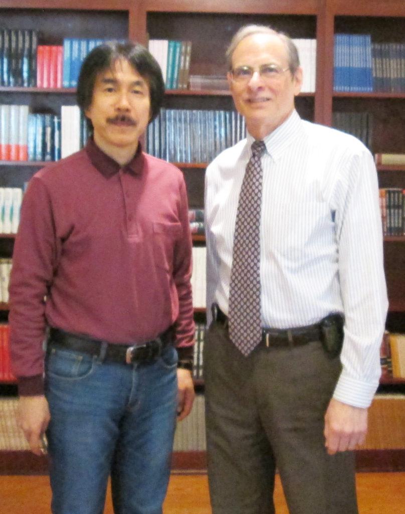 Masayuki Ohkado and Bruce Greyson, 2013