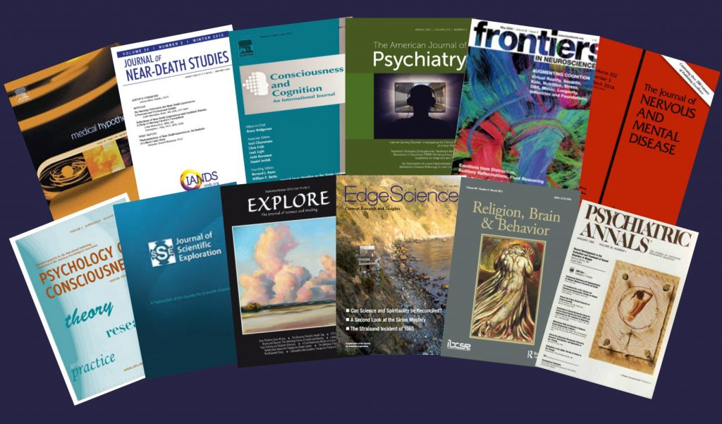 Journals in which DOPS researchers have published