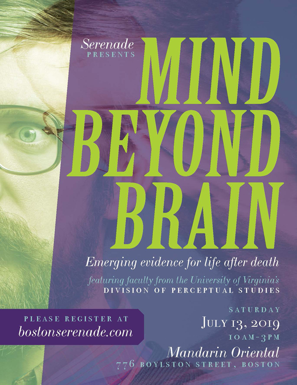 UVA DOPS Faculty Panel: Mind Beyond Brain-Emerging Evidence for Life After Life @ Mandarin Oriental