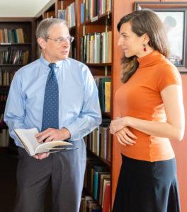 Dr. Bruce Greyson and Dr. Marieta Pehlivanova