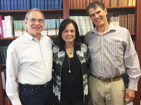Bruce Greyson, Anita Moorjani and Eben Alexander, May 2019