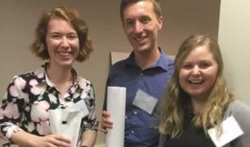 MPH Students Attend VPHA Research Day; Rogers' Poster Takes 2nd Place
