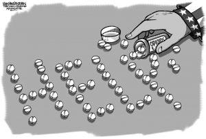 Opioids Cartoon