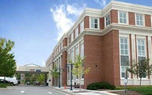 UVA snapshot of the 415 Building at Fontaine Research Park