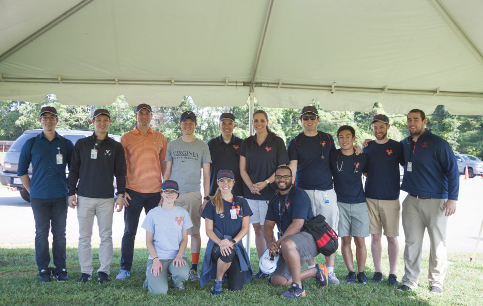 uva Residents in a group photo