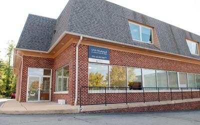 Photo of UVA Work-Med building on Arlington Blvd.
