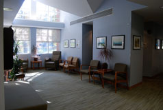 Moser Radiation Therapy Center Waiting Room