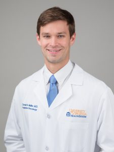 Radiation Oncology resident, Don Muller, MD