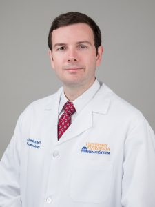 Radiation Oncology resident, Jason Sanders, MD