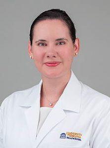 UVA Radiation Oncology Residency Program Director, Einsley Janowski, MD, PhD