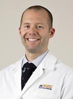 UVA Radiology IR faculty Luke Wilkins, MD, FSIR