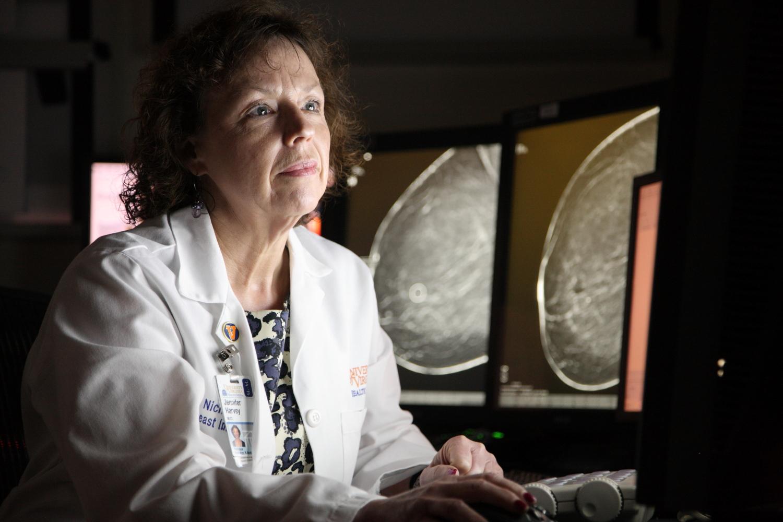 UVA breast radiologist Dr. Harvey