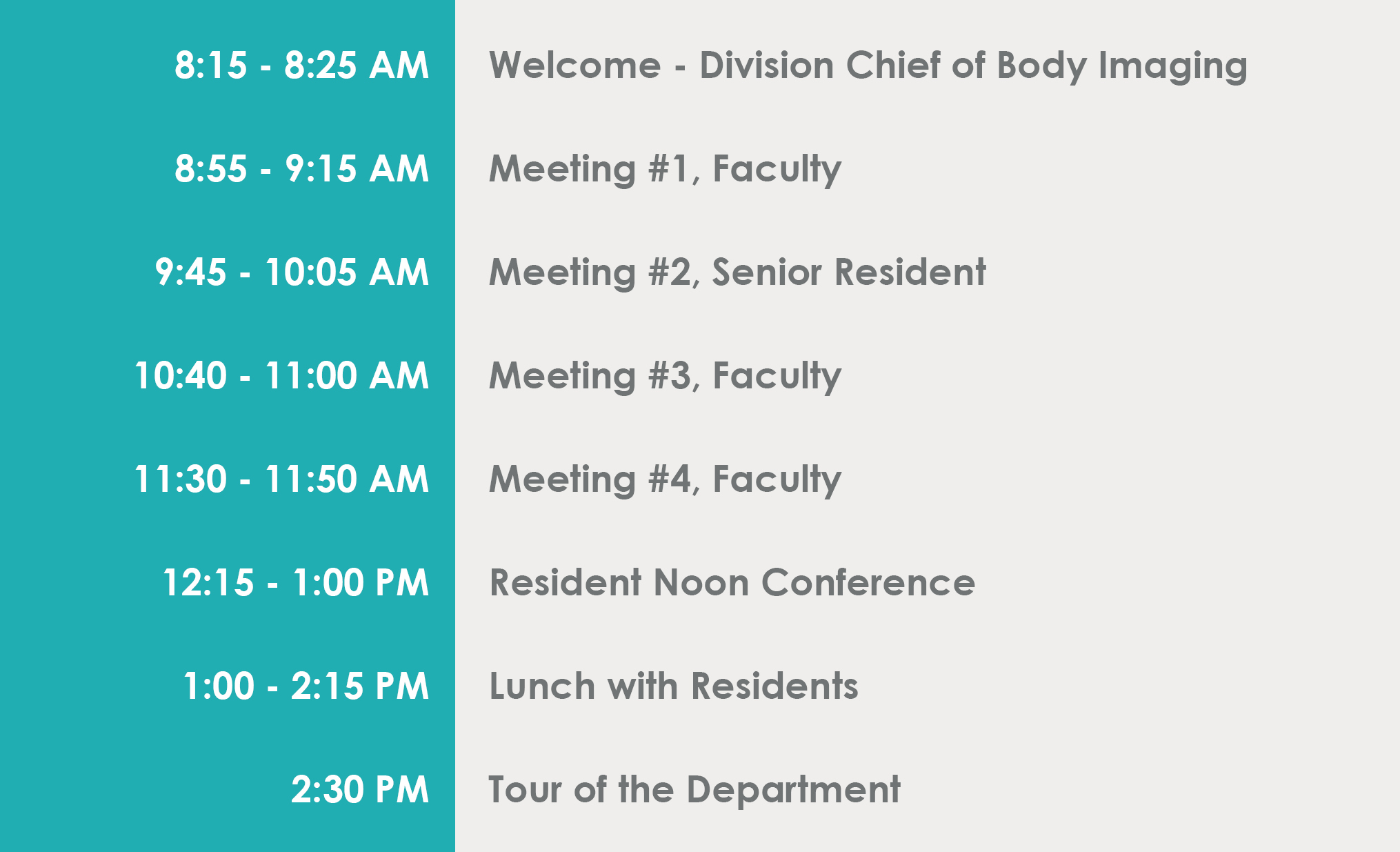 Your UVA Interview Day | Radiology and Medical Imaging | UVA