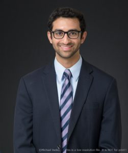 UVA Radiology resident Neal Desai