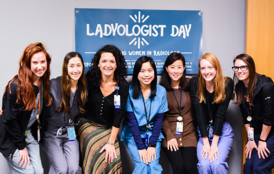 A special UVA Radiology initiative, the 'Ladyologist' program provides a space for female and non-binary radiologists to share and learn from one another