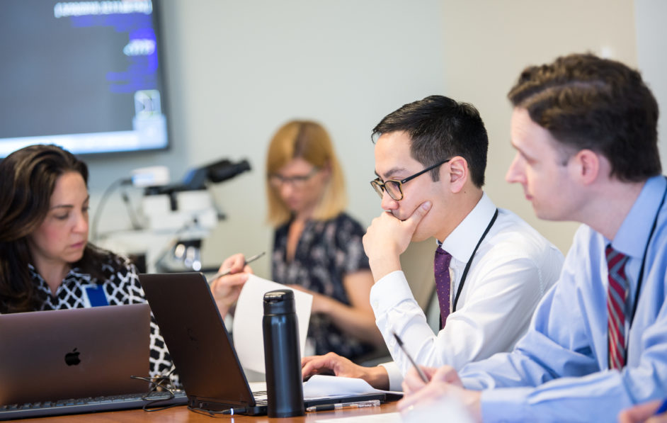 UVA Radiologists participate in daily Breast Care Center conferences