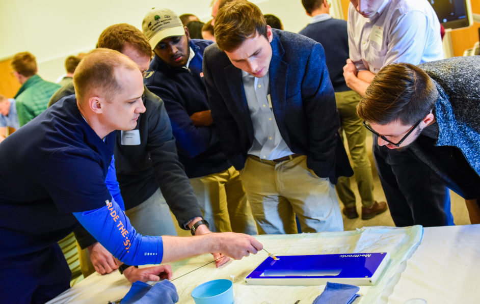 UVA Interventional Radiology residents, fellows and faculty host an annual I.R. Symposium for interested medical students