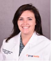 UVA Radiology resident Erin Aubrey