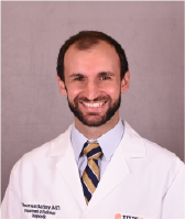 UVA Radiology resident Thomas Battey