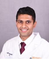 UVA Radiology resident Vishnu Chandra