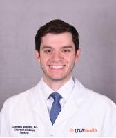 UVA Radiology resident Dionysios Koroulakis