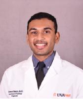 UVA Radiology resident Vamsi Meka