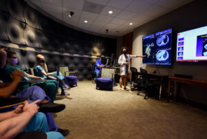 UVA Radiology noontime lecture with Dr. Juliana Bueno