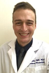 Dr. Eric J. Keller, MD, MA, IR/DR resident at Stanford University