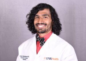 UVA Radiology resident Xavier Mohammed