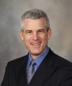 Dr. David Kallmes, radiologist at the Mayo Clinic and lecturer in the UVA Radiology Keystone Lecture Series