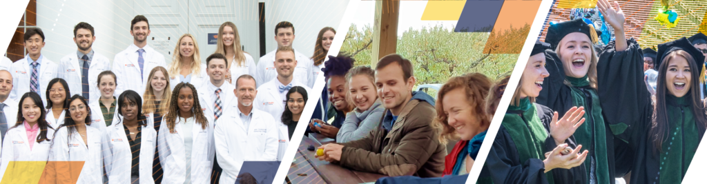 UVA School of Medicine Student Affairs learning communities page graphic banner