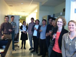 Tamm Lab celebrates Iga Kucharska's Qualifying Exam - March, 2013