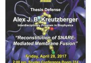 Congratulations to Alex Kreutzberger for Successfully Defending his Dissertation