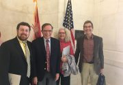 Advocating Science – Biophysical Society's Lukas Tamm goes to Capitol Hill