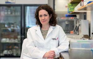 Photo of melanie rutkowski in uva lab