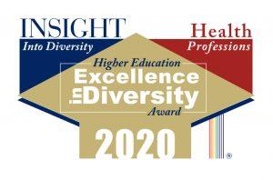 Excellence in diversity award logo.